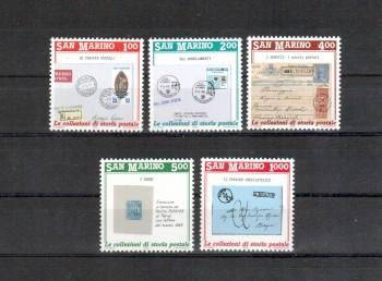 San Marino Michelnummer 1416 - 1420 postfrisch