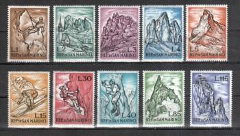 San Marino Michelnummer 729 - 738 postfrisch