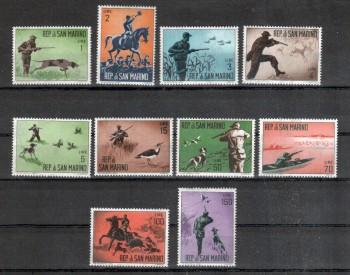San Marino Michelnummer 739 - 748 postfrisch