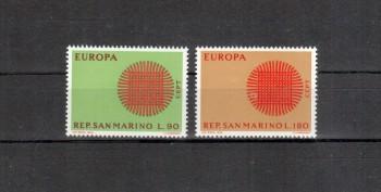San Marino Michelnummer 955 - 956 postfrisch