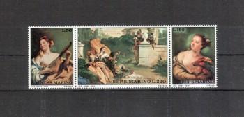 San Marino Michelnummer 959 - 961 postfrisch