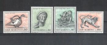 San Marino Michelnummer 980 - 983 postfrisch