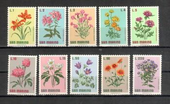 San Marino Michelnummer 984 - 993 postfrisch