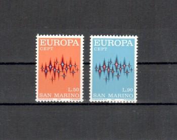 San Marino Michelnummer 997 - 998 postfrisch