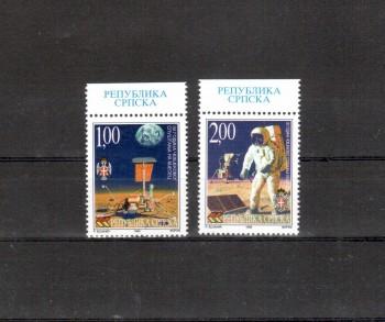 B + H , serbische Republik Michelnummer 139 - 140 postfrisch