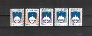 Slowenien Michelnummer 8 - 12 postfrisch