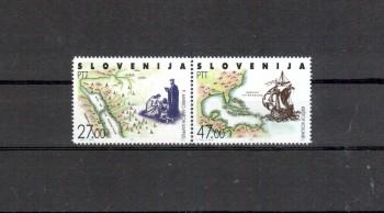 Slowenien Michelnummer 20 - 21 postfrisch