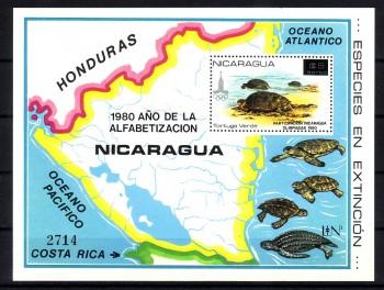 Nicaragua (intern: Tiere003) Michelnummer Block 136