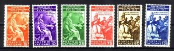Vatikan Michelnummer 45 - 50 postfrisch